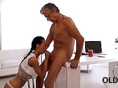 Teen, Blowjob, Small Tits, Teens, Brunette, Cowgirl, Czech, Secretary, Skinny