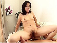 Asian, POV, Handjob, Dildo, Brunette, HD, Japanese