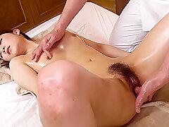 Asian, Brunette, Deepthroat, HD, Hairy, Japanese