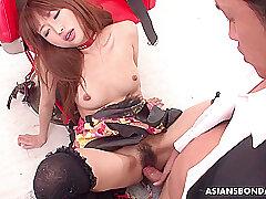 Asian, POV, Handjob, BDSM, Brunette, Deepthroat, HD, Hairy, Japanese, Skinny