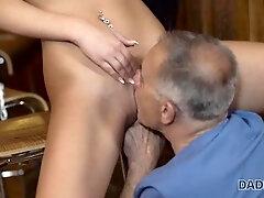 Teen, Small Tits, Brunette, Czech, Piercing, Pornstar